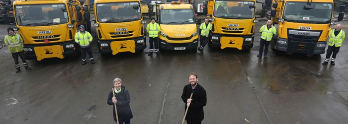 Gritting team ready for winter