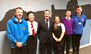 Success for youth programme funded by CashBack for Communities