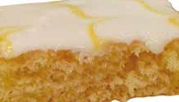 Iced Lemon Sponge