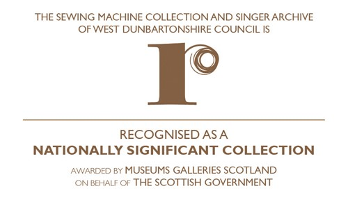 Singer Sewing machine nationally recognised collection logo