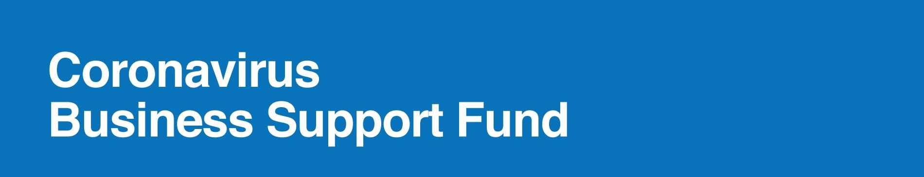 Coronavirus Business Support Fund