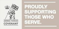 Armed Services Covenant logo - Produly supporting those who serve