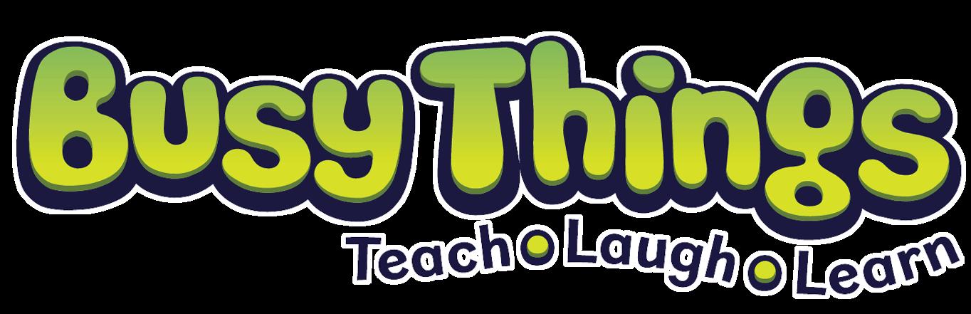 Busy Things - Teach Laugh Learn logo