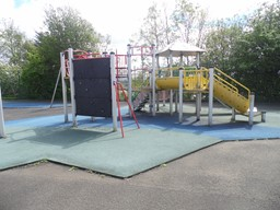 Image of play equipment in Vanguard Street Play park