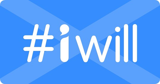 I will Logo Scotland
